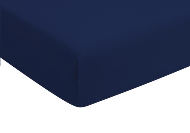 Romanette Drap-housse marine jersey double