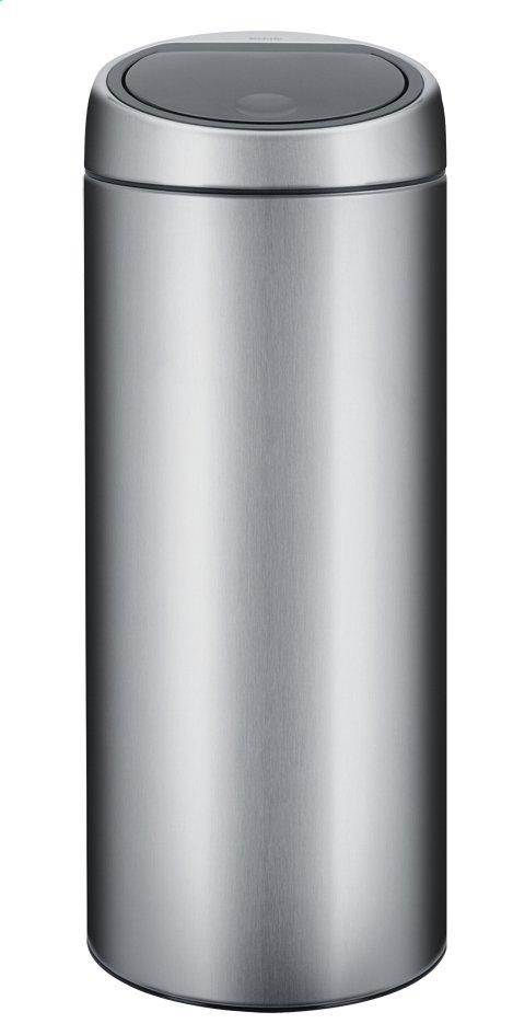 Brabantia poubelle touch bin 30 l acier mat collishop - Poubelle brabantia touch bin 50l ...