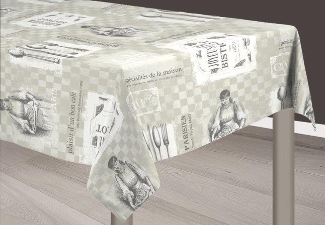 Image pour Nappe Bistrot 270 x 160 cm à partir de ColliShop