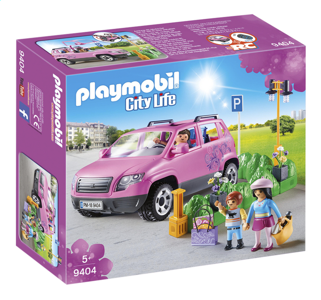 Voiture City 9404 Playmobil Life Familiale CxdBoe