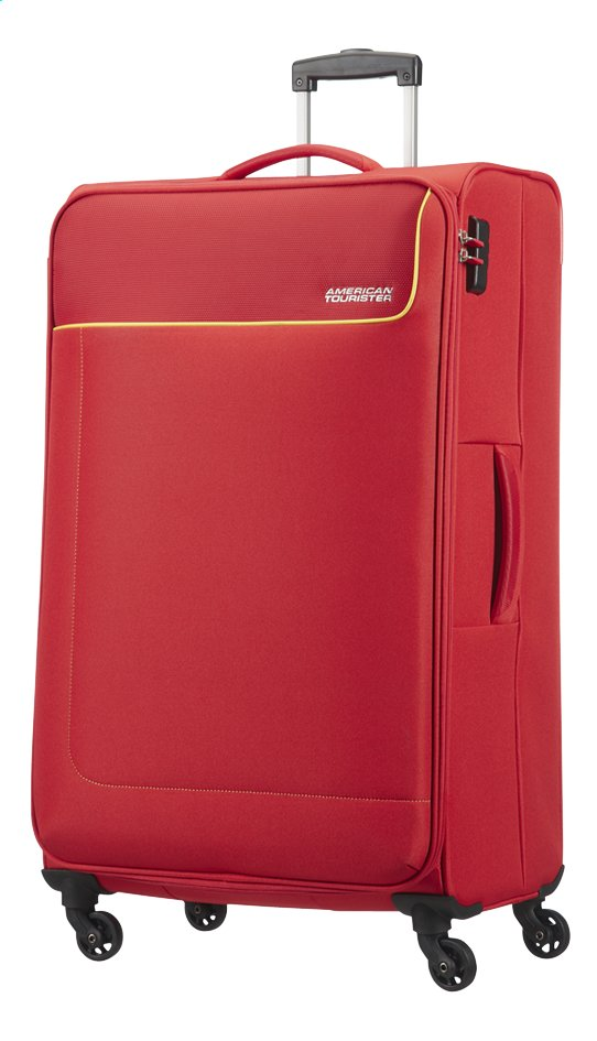 Afbeelding van American Tourister Zachte reistrolley Funshine Spinner rio red from ColliShop