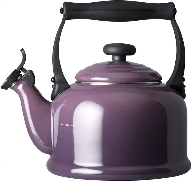 Afbeelding van Le Creuset fluitketel Tradition 2,1 l cassis from ColliShop