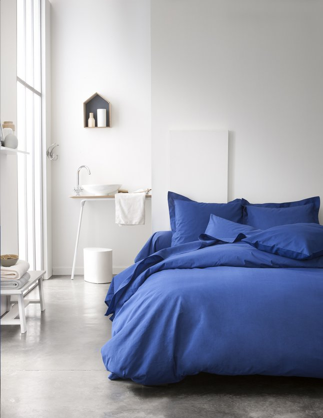 Image pour Today Housse de couette Indigo coton à partir de ColliShop