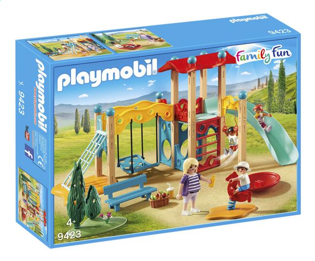 Image pour PLAYMOBIL Family Fun 9423 Parc de jeu avec toboggan à partir de ColliShop
