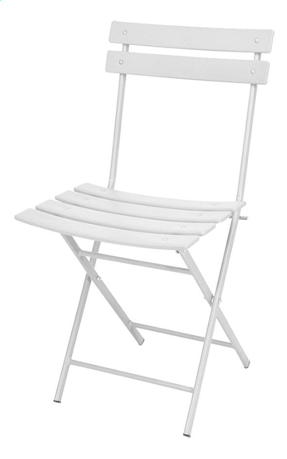 Image Pour Chaise Bistrot Blanc Mat A Partir De ColliShop