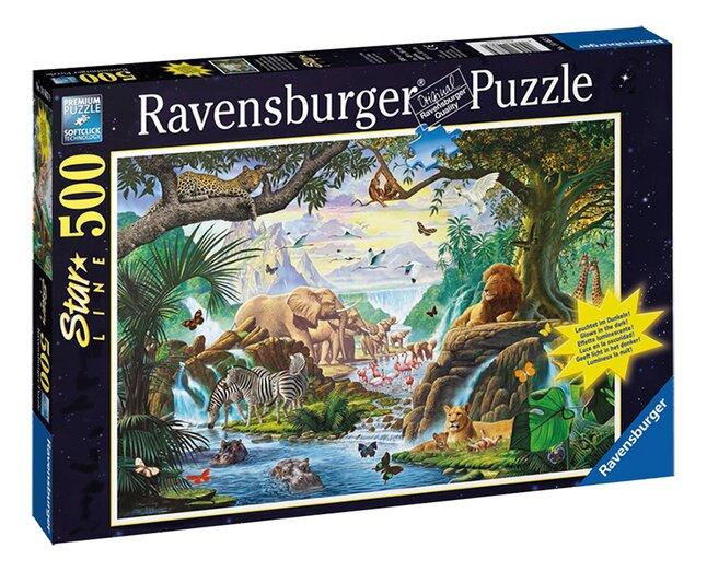 Image pour Ravensburger puzzle Animaux au plan d'eau à partir de ColliShop