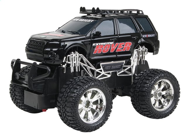 Afbeelding van New Bright auto RC Jeep Land Rover zwart from ColliShop