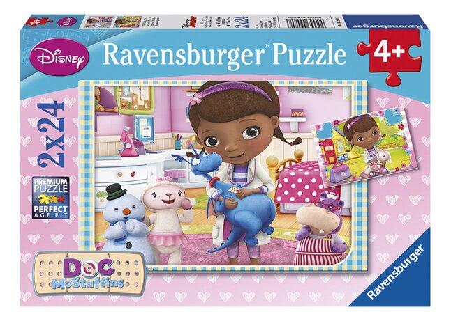 Image pour Ravensburger puzzle 2 en 1 Docteur La Peluche à partir de ColliShop
