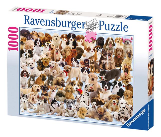 Afbeelding van Ravensburger puzzel Hondencollage from ColliShop