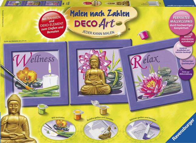 Image pour Ravensburger Numéro d'Art Bouddha à partir de ColliShop