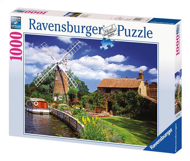 Image pour Ravensburger puzzle Moulin à vent pittoresque à partir de ColliShop