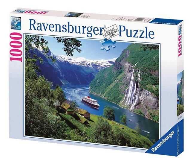 Image pour Ravensburger puzzle Fjord norvégien à partir de ColliShop