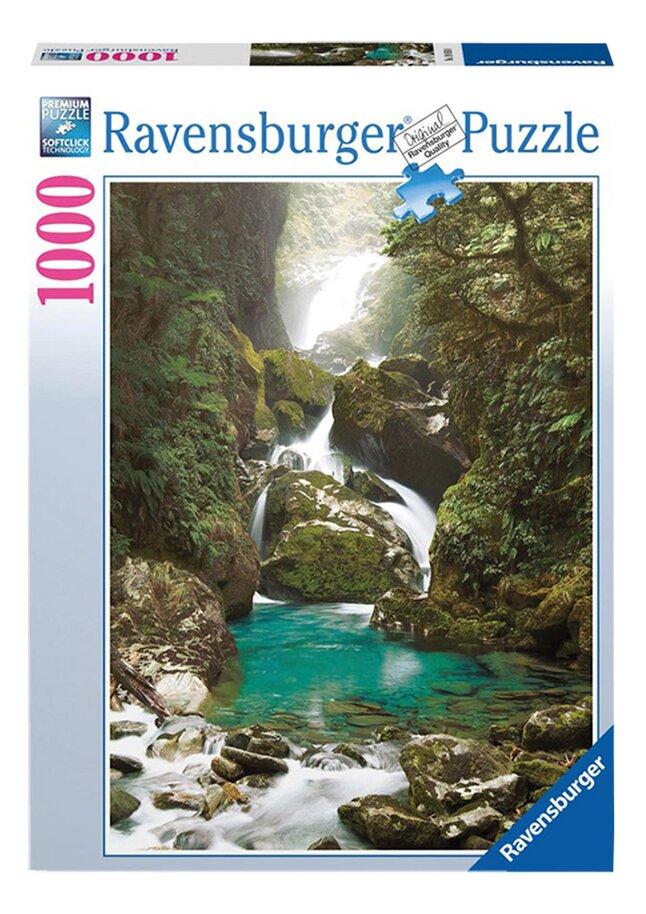 Afbeelding van Ravensburger puzzel Mackay Falls, Nieuw-Zeeland from ColliShop