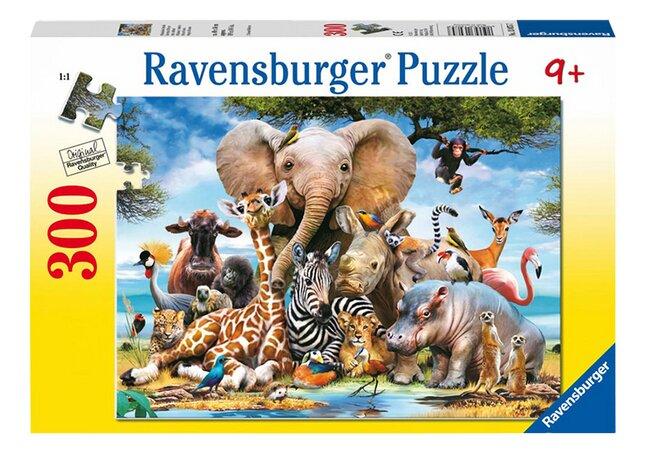 Image pour Ravensburger puzzle Mes amis d'Afrique à partir de ColliShop