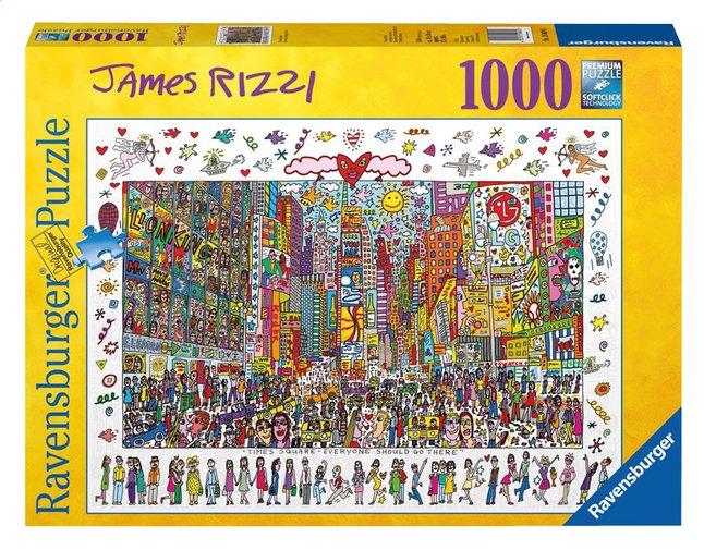 Image pour Ravensburger puzzle James Rizzi, Times Square à partir de ColliShop