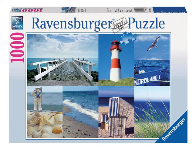Afbeelding van Ravensburger puzzel Maritieme impressies from ColliShop