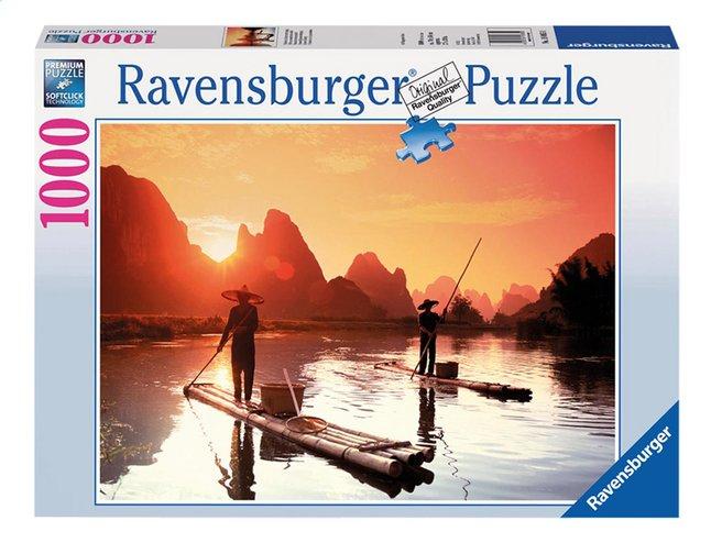 Afbeelding van Ravensburger puzzel Vissers bij zonsondergang from ColliShop