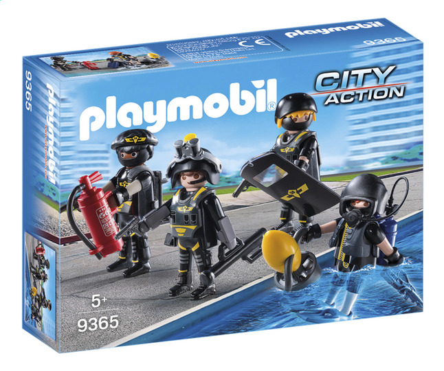 Afbeelding van PLAYMOBIL City Action 9365 SIE-team from ColliShop