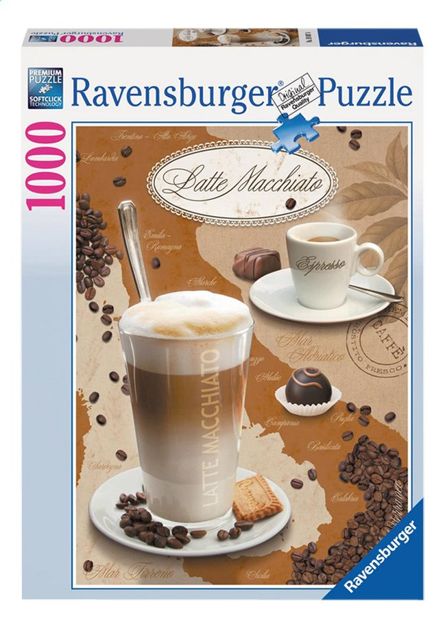 Afbeelding van Ravensburger puzzel Latte Macchiato from ColliShop
