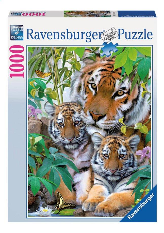 Image pour Ravensburger puzzle La famille tigre à partir de ColliShop