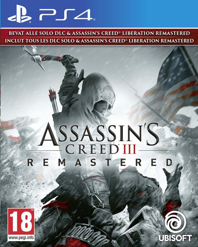 Image pour PS4 Assassin's Creed III Remastered FR/ANG à partir de ColliShop