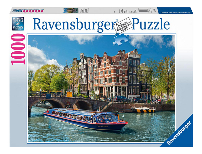Image pour Ravensburger puzzle Voyage à Amsterdam à partir de ColliShop