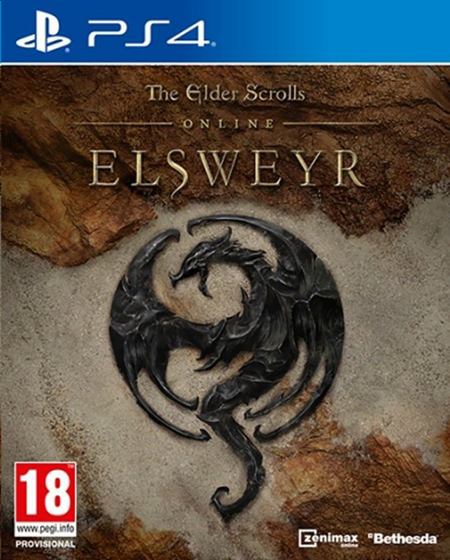 Afbeelding van PS4 The Elder Scrolls Online: Elsweyr ENG from ColliShop