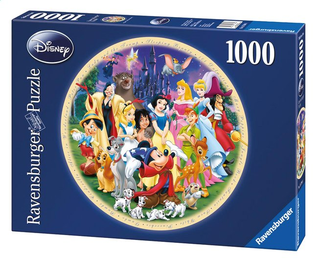 Afbeelding van Ravensburger puzzel Disney's Wonderful World from ColliShop