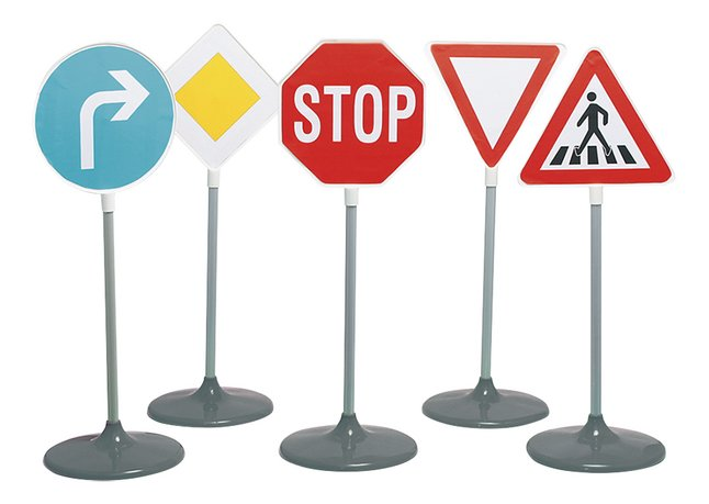 Image pour Set de 5 panneaux de signalisation à partir de ColliShop