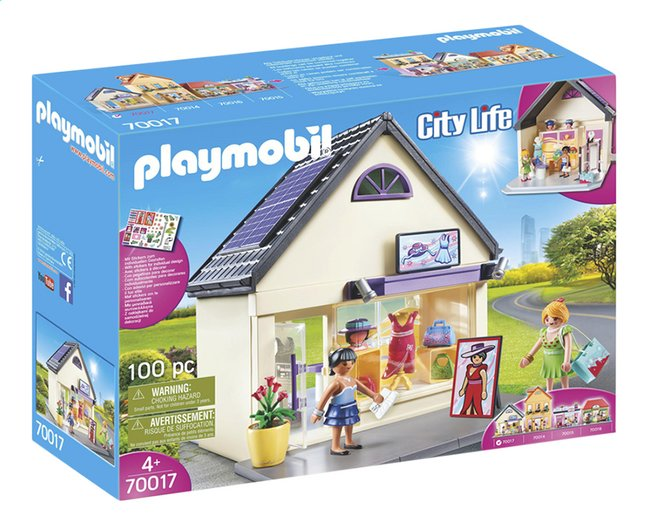 Image pour PLAYMOBIL City Life 70017 Boutique de mode à partir de ColliShop