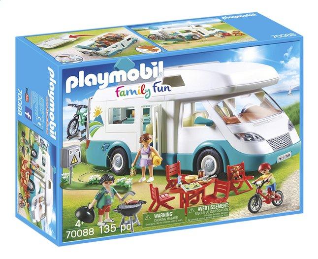 PLAYMOBIL Family Fun 70088 Mobilhome met familie