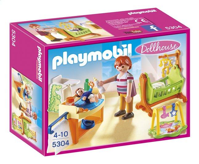 Afbeelding van Playmobil Dollhouse 5304 Babykamer met wieg from ColliShop
