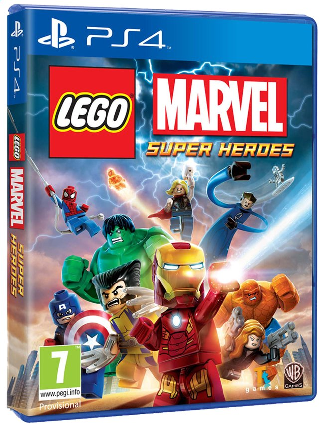 Afbeelding van PS4 LEGO: Marvel Super Heroes ENG/FR from ColliShop