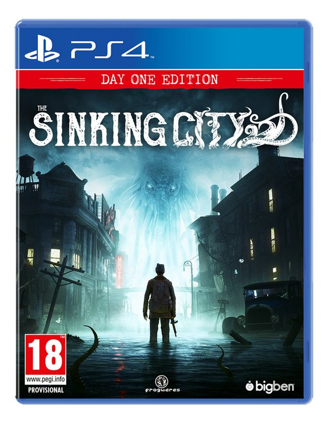 Afbeelding van PS4 The Sinking City NL/FR from ColliShop