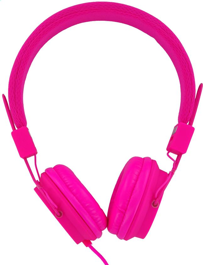 Afbeelding van Vivitar hoofdtelefoon Neon roze from ColliShop