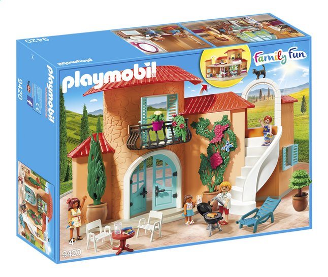 Afbeelding van PLAYMOBIL Family Fun 9420 Vakantievilla from ColliShop
