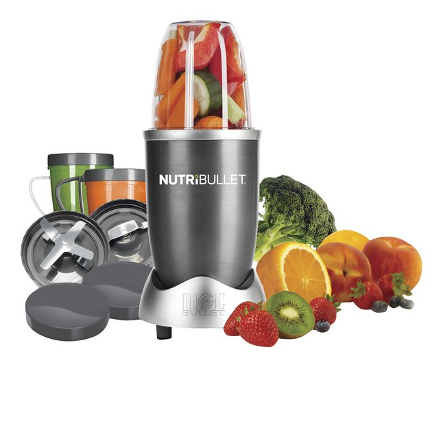 Afbeelding van Magic Bullet Blender NutriBullet grijs 12-delig from ColliShop