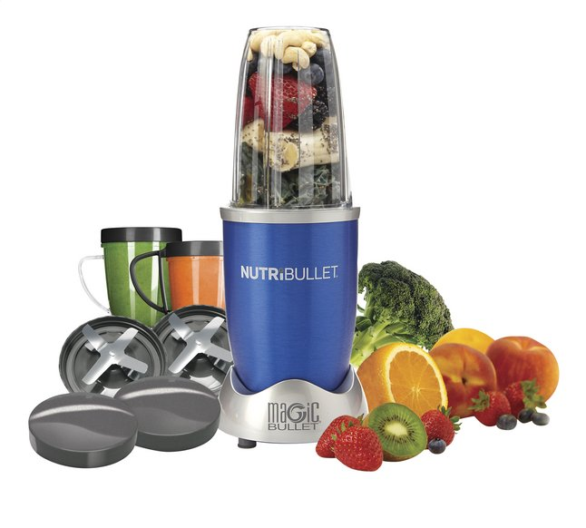 Afbeelding van Magic Bullet Blender NutriBullet blauw 12-delig from ColliShop