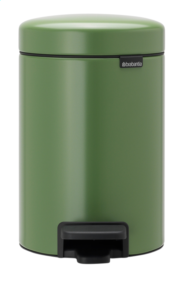 Afbeelding van Brabantia Pedaalemmer newIcon Moss Green 3 l from ColliShop