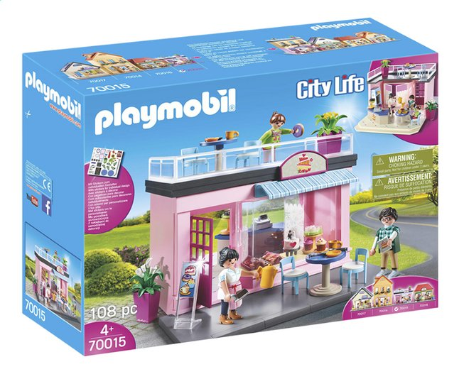 Afbeelding van PLAYMOBIL City Life 70015 Mijn koffiehuis from ColliShop