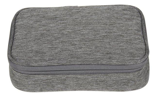 Kangourou plumier rectangulaire gris