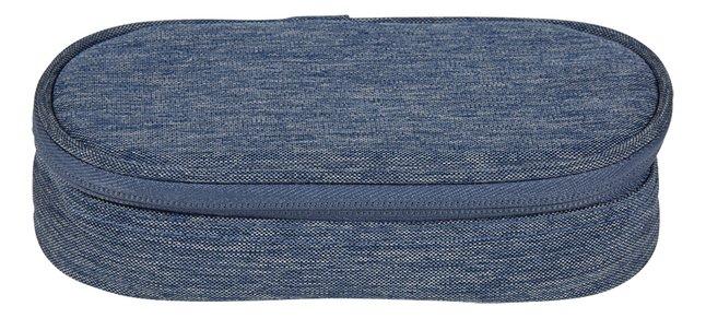 Afbeelding van Kangourou pennenzak ovaal blauw from ColliShop