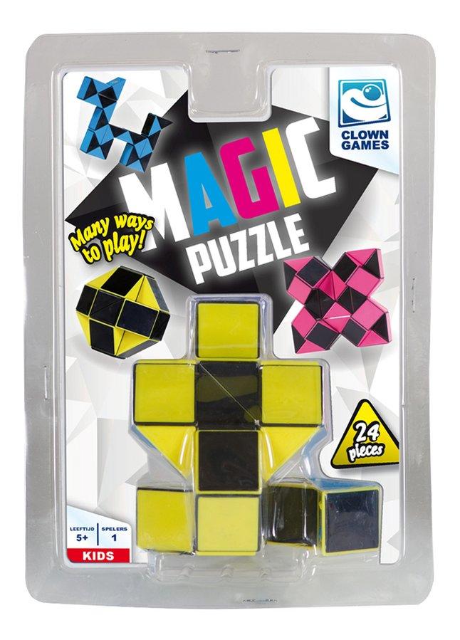 Magic Puzzle 24 stukjes geel