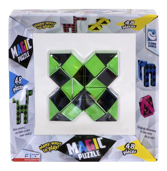 Magic Puzzle 48 stukjes groen