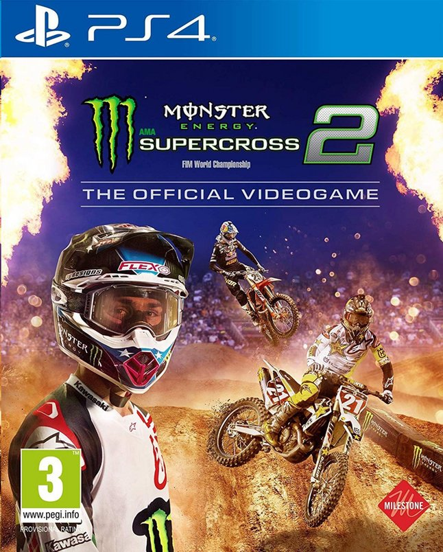 Image pour PS4 Monster Energy Supercross 2 The Official Videogame FR/NL à partir de ColliShop