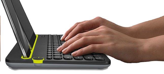 Image pour Logitech clavier sans fil Bluetooth K480 à partir de ColliShop