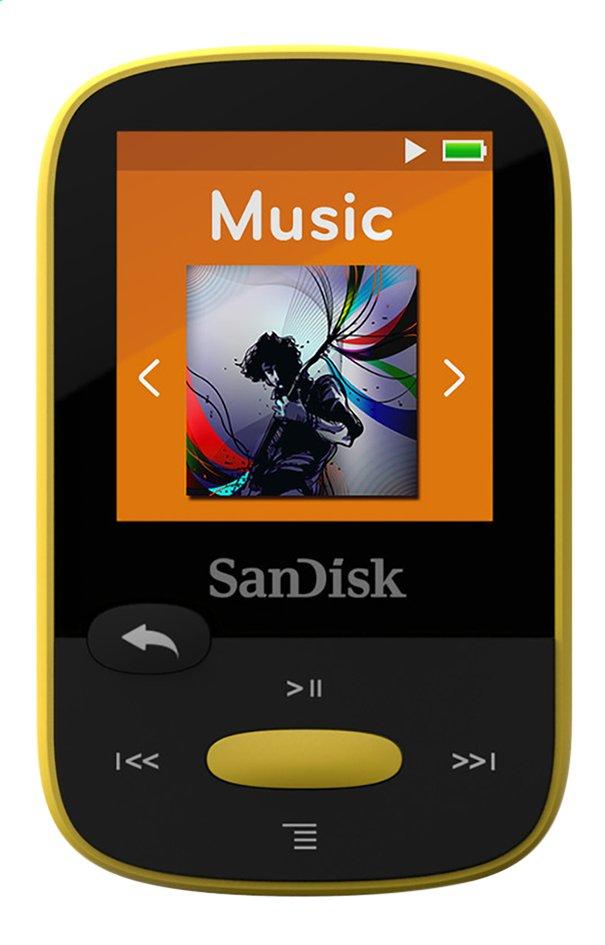 Afbeelding van SanDisk mp3-speler Sansa Clip Sport 8 GB geel from ColliShop