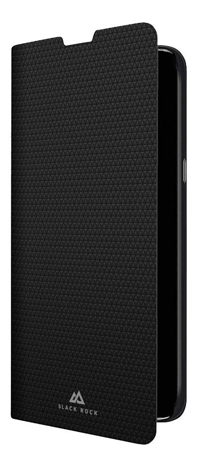 Black Rock Foliocover Booklet pour Samsung Galaxy S10 noir