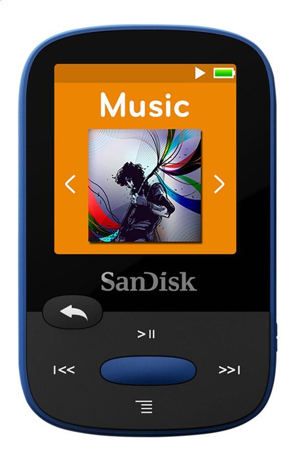 Afbeelding van SanDisk mp3-speler Sansa Clip Sport 8 GB blauw from ColliShop