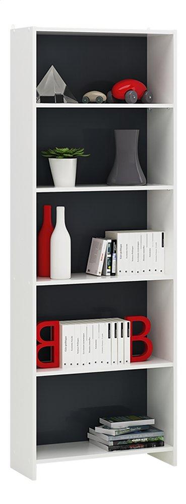 Afbeelding van Demeyere Meubles Boekenkast Folio wit/grijs decor from ColliShop